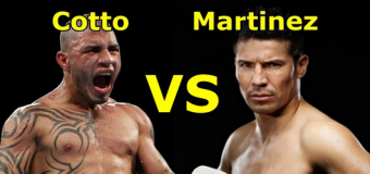 Boxing Event: Miguel Cotto Vs. Sergio Martinez Results