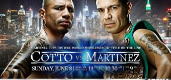 Miguel Cotto vs. Sergio Martinez: Who will win?