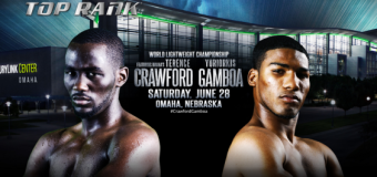 50 Cent's Fighter, Yuriorkis Gamboa, Looks Ready To Rumble Against Terence Crawford