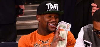 Floyd Mayweather drops Golden Boy