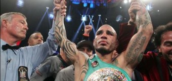 Miguel Cotto Receives Official Green WBC Middleweight Boxing Title In Puerto Rico