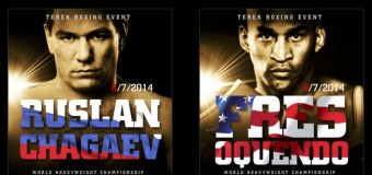 David Haye To Corner Fres Oquendo In Boxing Event Against Ruslan Chagaev In Grozny, Russia