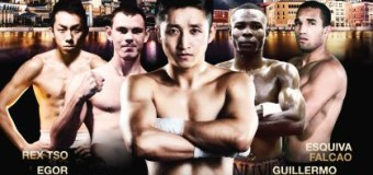 Champions Of Gold Boxing Event Undercard Results From Venetian Macao