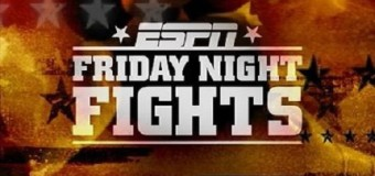 ESPN Boxing: Friday Night Fights Will Feature Ref Cams For The First Time Ever