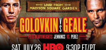 Gennady Golovkin vs Daniel Geale Results