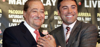 BREAKING NEWS: Oscar De La Hoya And Bob Arum Will Meet Next Week To Talk Co-Promotion