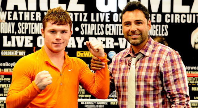 canelo alvarez golden boy