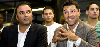 Oscar De La Hoya And Richard Schaefer Settle Golden Boy Promotions Lawsuit In Secret Pro Boxing Deal, In Lieu Of $50 Million Lawsuit