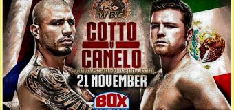 HBO Boxing: Canelo Alvarez Defeats Miguel Cotto Via Unanimous Decision ; Captures Vacant WBC Title